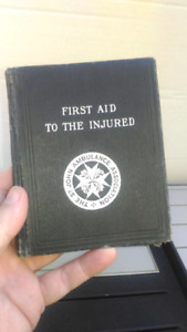 1928 Saint John Ambulance First Aid Book