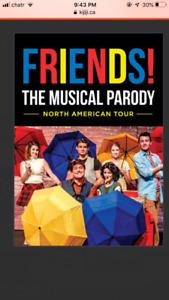 FRIENDS Parody Theatre Tickets