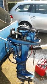 Suzuki 9.9 2 stroke outboard