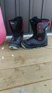 Snowboard et bottes