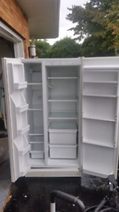 """33"""" counter depth fridge.  Works great, looks not so great."""
