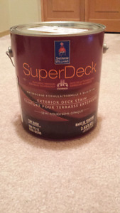 Sherwin Williams deck stain