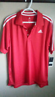 Brand New with Tags Adidas Climalite Golf Shirt
