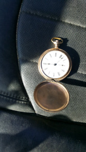 Waltham Pocket Watch Gold Plated