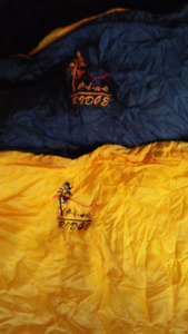 Pine Ridge sleeping bag rated -20 like new condition