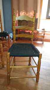 6 wooden ladder back chairs Peterborough Peterborough Area image 2