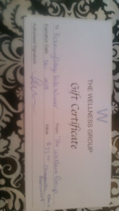 Chiropractic Assessment Gift Certificate