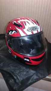 Youth snowmobile helmet size lg youth