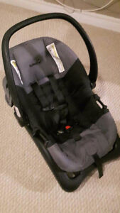Car seat with carrier for infant