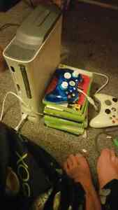 Xbox 4 games 2 controllers