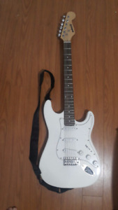 Electric Guitar with strap