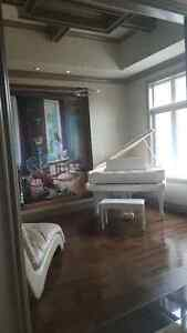 One of a kind barely used White Baby Grand Player Piano!