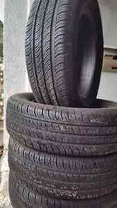 4 - Continental summer tires for sale (195 65 15)