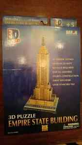 3D Puzzle Empire State Building NEW