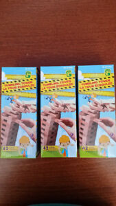 3 Tumbling Tower boxes ($3 TOTAL). Condition - 10/10.
