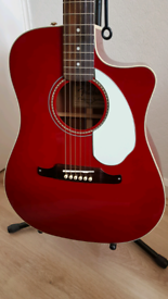 FENDER SONORAN full size SCE ELECTRO ACOUSTIC GUITAR