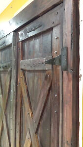 BARN DOORS ANTIQUE COTTAGE STYLE MADE TO ORDER