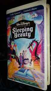Walt Disney VHS Masterpiece Collection Edition Sleeping Beauty
