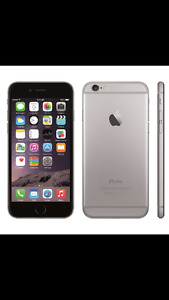 iPhone 6s 64gb with black nuud lifeproof case