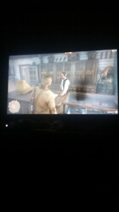 43 inch Samsung TV has a black spot doesn't effect it much