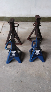 2 pairs of jacks stands for sale. $50 OBO
