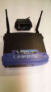 Wireless-G 2.4 GHz broadband router by LINKSYS