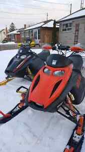 Skidoo rev and xp parts