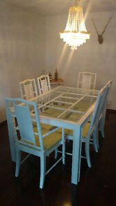 Shabby Chic/Vintage 6 seat table