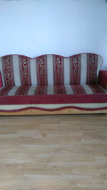 1 Red seaty £45