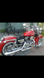 Harley Davidson XLH 1992-customized-great condition