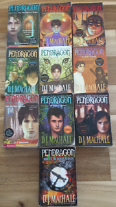 **Complete Pendragon Series plus Bonus Book - 11 total**