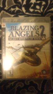 Ps3 game blazing angels