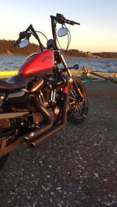 2013 Harley Davidson Iron 883 with 1200 kit