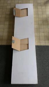 "Solid wood bi fold doors 36"""