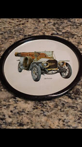 PEERLESS 1909 VINTAGE AUTOMOBILE ADVERTISING TRAY $20
