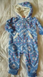 Carters hooded playsuit