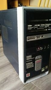 AMD 3500+/1GB Ram/160GB HD/Win 7