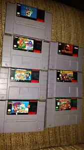 SNES Games and System Super Mario Donkey Kong Super nintendo n64