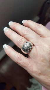 Thick sterling silver