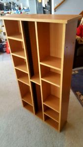 CD/DVD shelving unit/cabinet