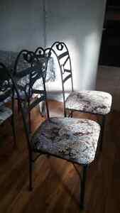 4 Dining room chairs Windsor Region Ontario image 1