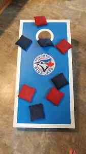 Blue Jays Handcrafted Cornhole Bean Bag Toss Game Kitchener / Waterloo Kitchener Area image 1