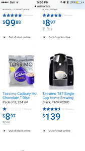 BNIB TASSIMO T47 HOME BREWING SYSTEM