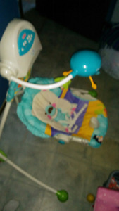 Deluxe fisher price swinging chair