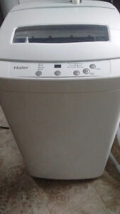 HAIER apartment size WASHER