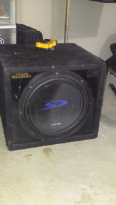 Car subs and amp