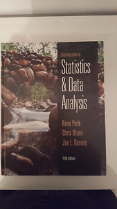 Introduction to Statistics & Data Analysis by Roxy Peck et al.