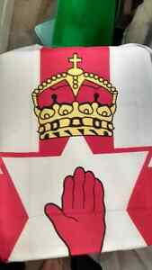 Hand of Ulster Flag - Full Size  New Cambridge Kitchener Area image 1