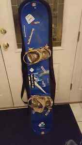2 Snowboards, 2 goggles, helmet, 2 pairs of boots/bindings