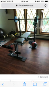 home gym moving need to sell.